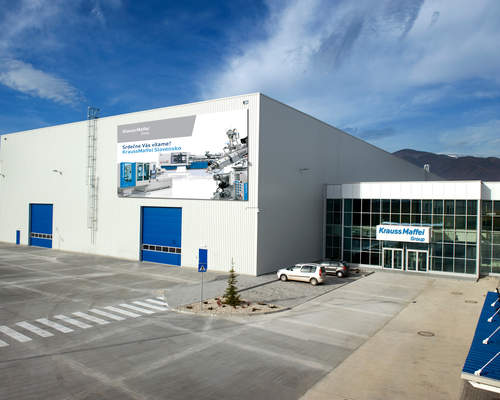 KraussMaffei Group doubles production capacity in Slovakia