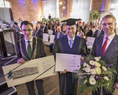 Chemnitz University of Technology confers honorary doctorate on Georg P. Holzinger