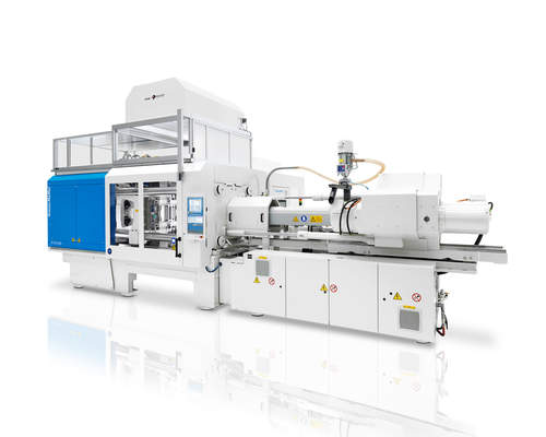 KraussMaffei at Fakuma:  All-electric PX 320 will show double IMD and IML simultaneously