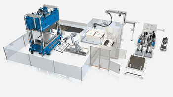 KraussMaffei at JEC World Paris:  Strong impulses for composite processing suitable for series production