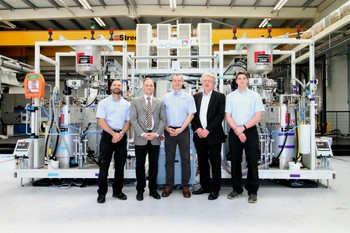 Focus on drastically reduced cycle times: KraussMaffei delivers HP-RTM system to British university manufacturing research center AMRC