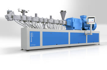 Chinaplas 2019: KraussMaffei Berstorff launches ZE GP Agile twin-screw extruder