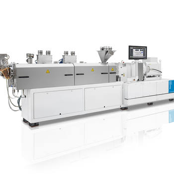 Industry 4.0 solutions for compounding extruders