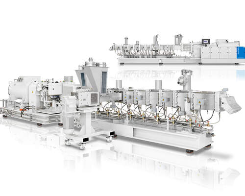 Powerful and highly efficient – successful market launch of the four large ZE BluePower compounding extruders
